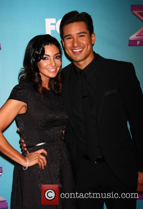 Courtney Mazza and Mario Lopez 1