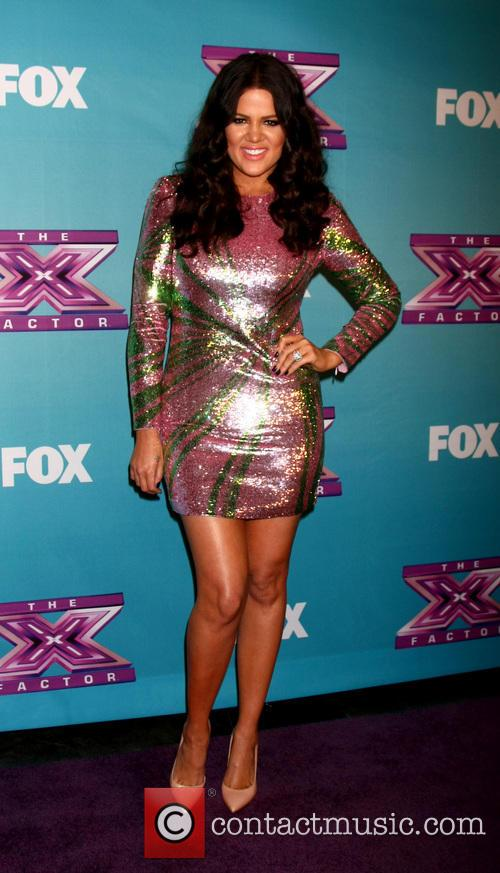 Khloe Kardashian Odom The 'X Factor' Season Finale...