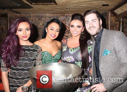 Little Mix and Eddie Brett 2