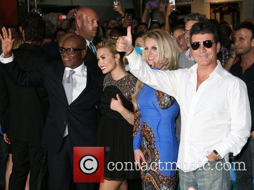Demi Lovato, Britney Spears, Simon Cowell and X Factor 2