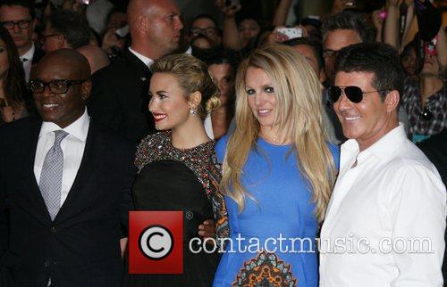 Demi Lovato, Britney Spears, Simon Cowell and X Factor 3
