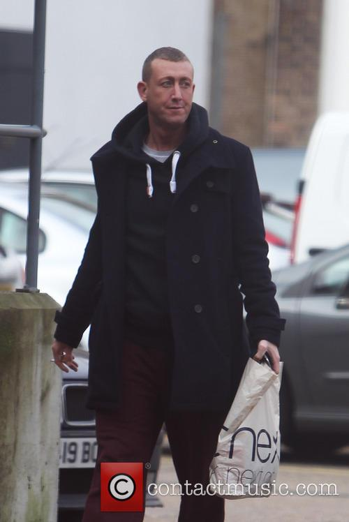 Christopher Maloney The X Factor finalists arrive for...