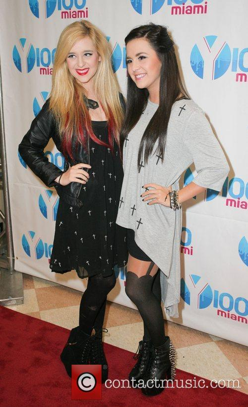 Megan and Liz Jingle Ball