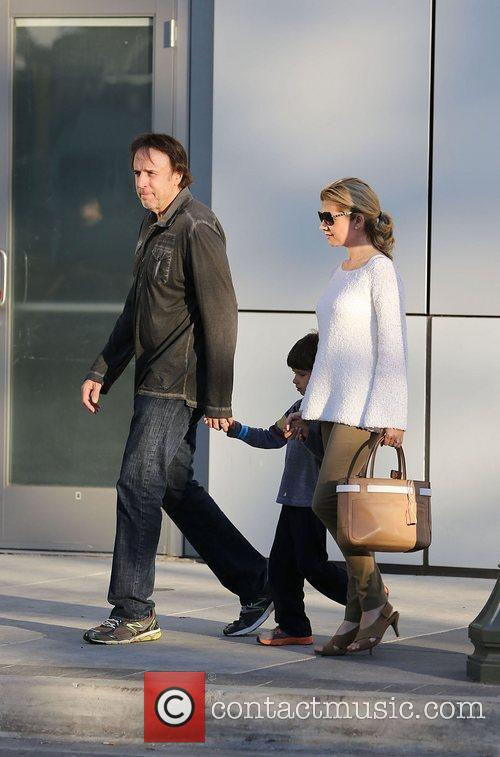 kevin nealon and family celebrities leaving yo 4185146