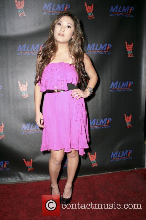 Ally Maki,  at the 2011 Youth Rock...