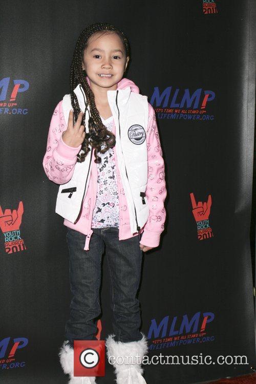 Ariah Tsukada-Aka,  at the 2011 Youth Rock...