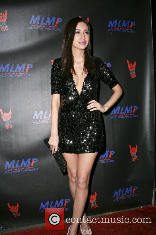 Christian Serratos,  at the 2011 Youth Rock...