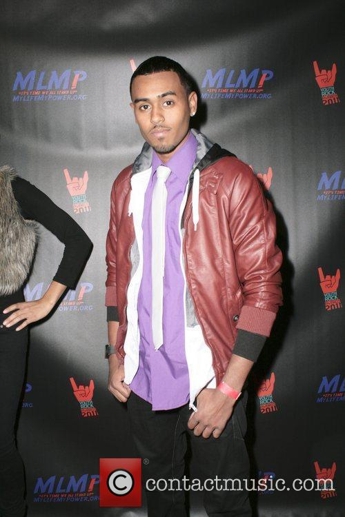 Syncere,  at the 2011 Youth Rock Awards...