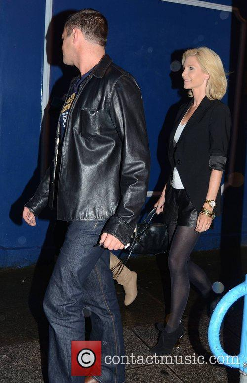 Yvonne Keating leaving Bite restaurant with friends to...