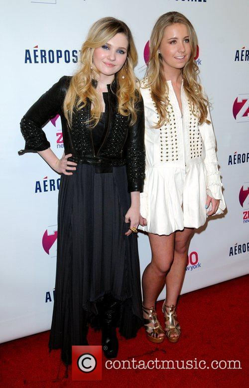 Abigail Breslin and Cassidy Reiff Z100's 2011 Jingle...