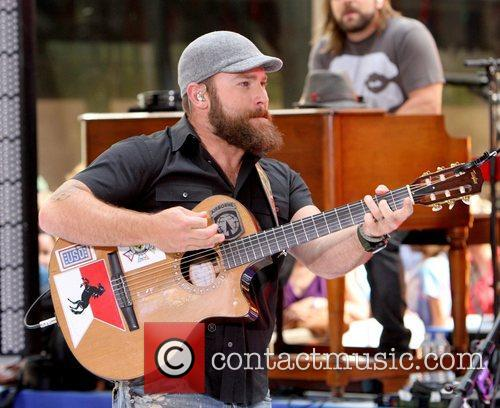 Zac Brown Band performs live at Rockefeller Center...