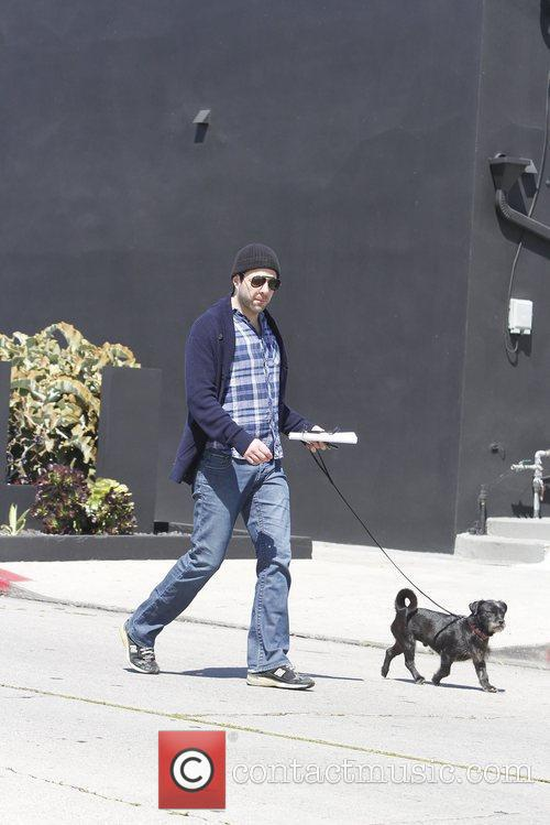 zachary quinto seen out and about with 5825780