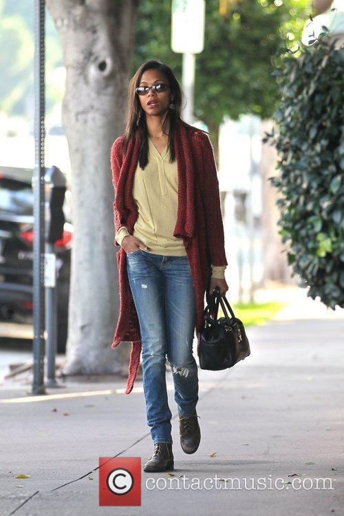 Out and about in West Hollywood wearing a...