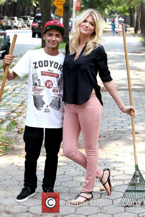 Chaz Ortiz and Kate Upton Zoo York and...