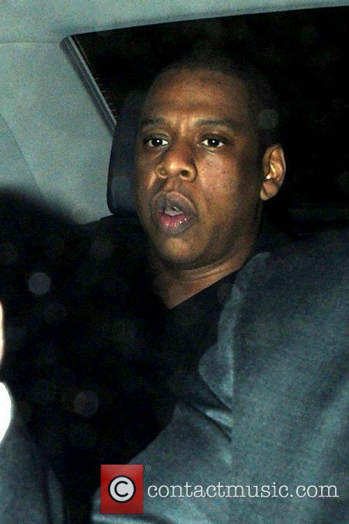 Jay Z at Zuma restaurant