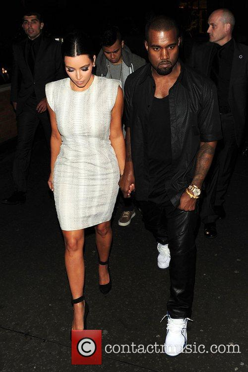 Kim Kardashian and Kanye West 6
