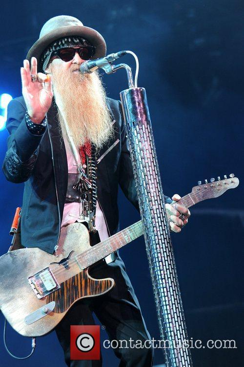 ZZ Top performs at Hard Rock Live! in...