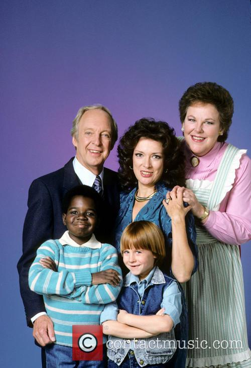 Conrad Bain, Dixie Carter, Edie Mcclurg, Danny Cooksey and Gary Coleman 2