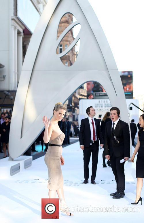 U.K. premiere of 'Star Trek Into Darkness 3D'...