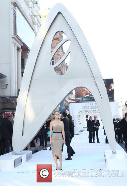 U.K. premiere of 'Star Trek Into Darkness 3D'...