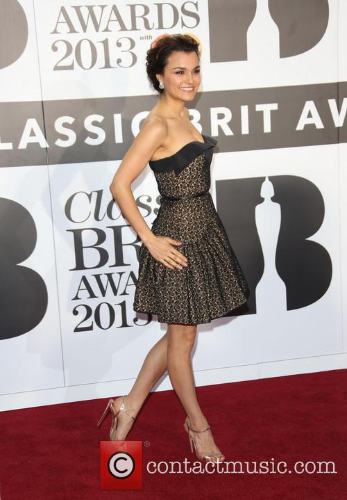 samantha barks the classic brit awards 2013 3888901