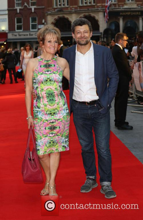 Andy Serkis and Lorraine Ashbourne 5