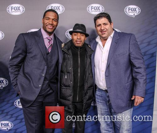 Michael Strahan, Tiki Barber and Tony Siragusa 3