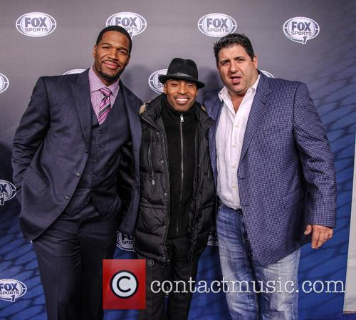 Michael Strahan, Tiki Barber and Tony Siragusa 4