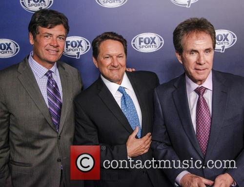 Michael Waltrip, Chris Myers and Darrell Waltrip 6