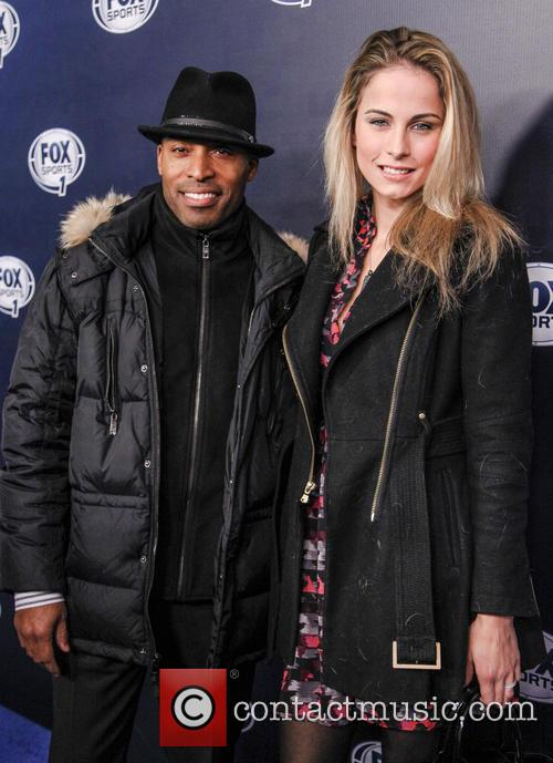 Tiki Barber and Traci Lynn 1