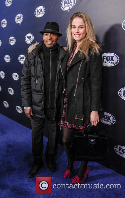Tiki Barber and Traci Lynn 2