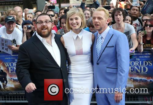 Nick Frost, Rosamund Pike and Simon Pegg 2