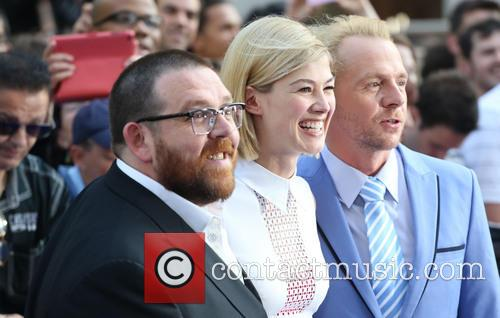 Nick Frost, Rosamund Pike and Simon Pegg 3