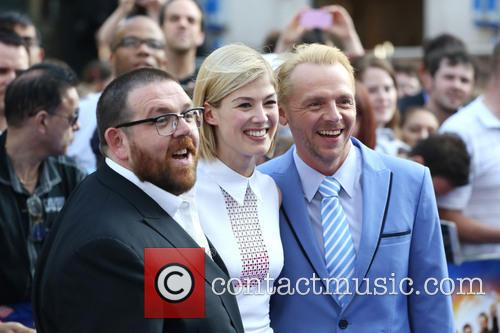 Nick Frost, Rosamund Pike and Simon Pegg 4