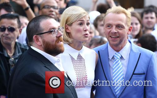 Nick Frost, Rosamund Pike and Simon Pegg 1