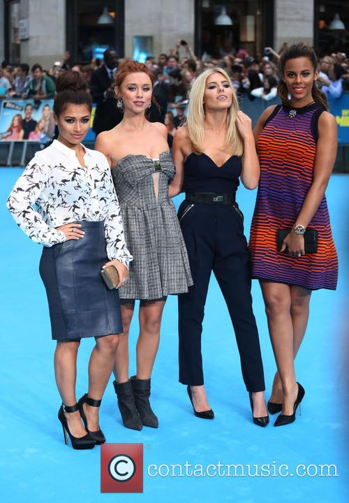 Vanessa White, Una Healy, Mollie King, Rochelle Wiseman and The Saturdays 1