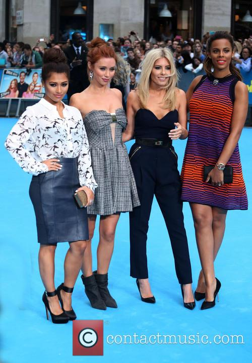 Vanessa White, Una Healy, Mollie King, Rochelle Wiseman and The Saturdays 2