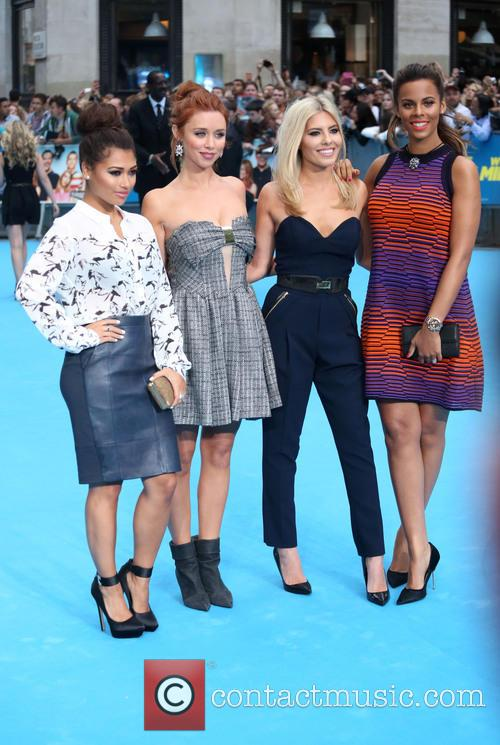 Vanessa White, Una Healy, Mollie King, Rochelle Wiseman and The Saturdays 3