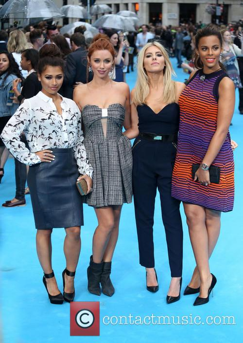 Vanessa White, Una Healy, Mollie King, Rochelle Wiseman and The Saturdays 4