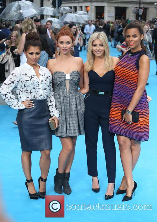 Vanessa White, Una Healy, Mollie King, Rochelle Wiseman and The Saturdays 5