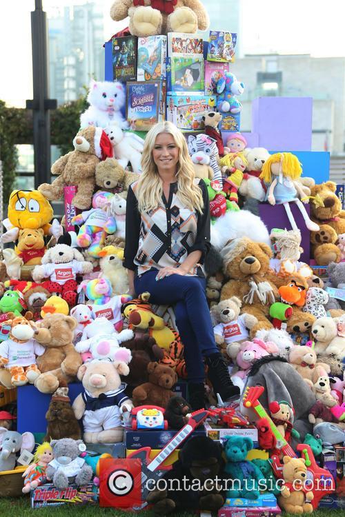 Denise Van Outen launches the Argos 2013 Toy...