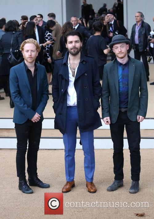 Simon Neil, Ben Johnston, James Johnston and Biffy Clyro 1