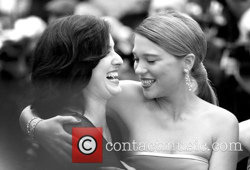 Rebecca Zlotowsk and Lea Seydoux 1