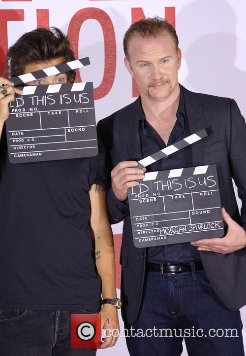 One Direction, Harry Styles and Morgan Spurlock