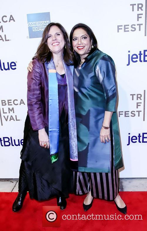 Lydia Pilcer and Mira Nair 1