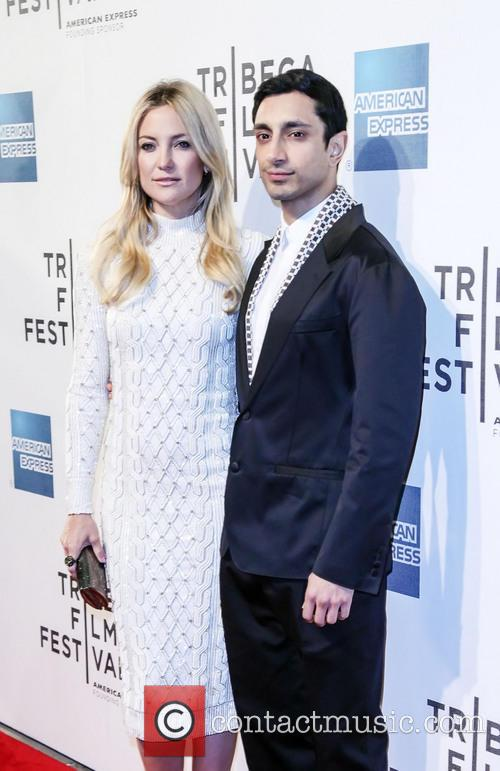 Riz Ahmed and Kate Hudson 1