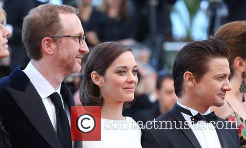 James Gray, Marion Cotillard and Jeremy Renner 2