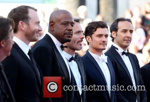 Jerome Salle, Orlando Bloom and Forest Whitaker 2