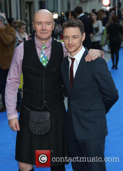 James Mcavoy and Irvine Welsh 3