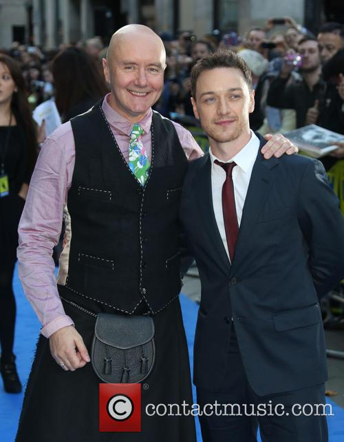 James Mcavoy and Irvine Welsh 9